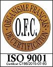 logo OFC ISO 9001